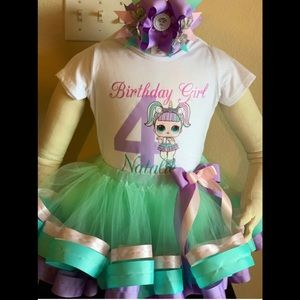 Lol birthday party tutu outfit